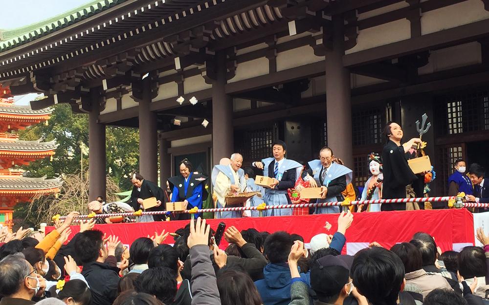 令和最初の節分大祭は天候に恵まれて滞りなく終えることができました。